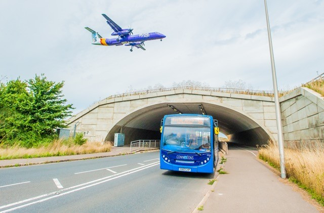 "New ""CONNexIONS"" bus service for Exeter and East Devon Enterprise Zone launches"