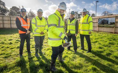 Work begins on new net zero carbon building at Exeter Science Park