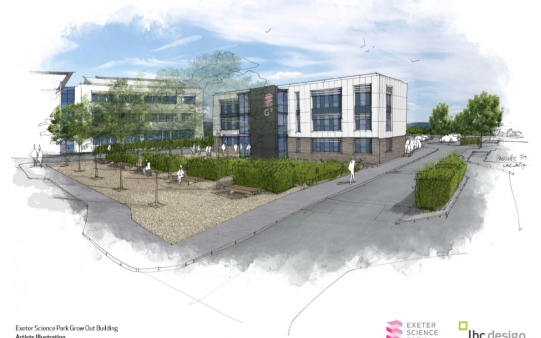 Artist impression of Grow-out buildings